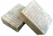 2 Bars Handmade Natural Beer Soap Lightly Scented with Patchouli, Cedarwood, & Pepppermint Essential Oil 180ml Large bar - Shaving & Bath