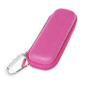 For Schick Hydro Silk TrimStyle Moisturising Razor Women Bikini Trimmer Hard EVA Protective Travel Case Carrying Pink by Hermitshell