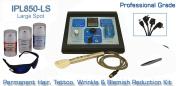 IPL850 -DE mit großen Punkten E Licht professionelle IPL Laser Hair & Falten entfernen Maschine für 220-240 Volt Verwenden