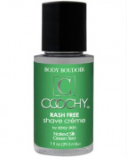 New Coochy Body Rashfree Shave Creme - 30ml Green Tea