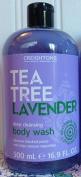 Creightons Tea Tree Lavender Deep Cleansing Body Wash, 500ml