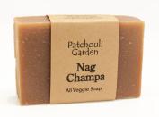 Nag Champa Handmade Soap- All Veggie with Hemp Seed Oil