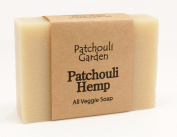 Patchouli Hemp Handmade Soap- All Veggie Soap