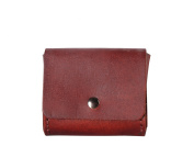 Diophy Small Leather Snap Closure Coin Pouch Purse 8260
