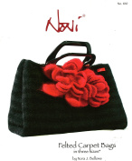 Noni Knitting & Felting Pattern 100 - Felted Carpet Bags in 3 Sizes