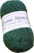 Classic Alpaca 100% Baby Alpaca Yarn #1402 Adirondack Green