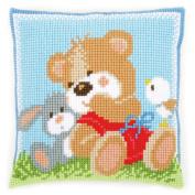 Vervaco Sweet Hugs Cushion Cross Stitch Kit