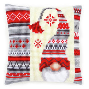 Vervaco Christmas Elf 2 Cushion Cross Stitch Kit