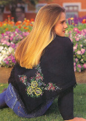 Rich Garden Shawl Embroidery Kit