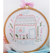 Charles Craft Home Sweet Home Embroidery Kit