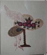 Bordeaux Chapeau - DK Designs Pattern & Fabric #3857