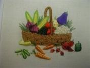 A. Basket O'Veggies - DK Designs Pattern & Fabric #3850