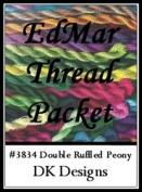 Double Ruffled Peony - DK Designs EdMar thread pkt #3834
