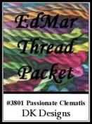 Passionate Celmatis - DK Designs EdMar thread pkt #3801