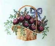 Rose Peony Basket - DK Designs Pattern & Fabric #3833