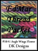Angel Wings Flower - DK Designs EdMar thread pkt #3841