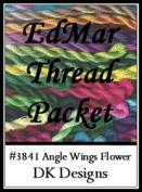 Angel Wings Flower - DK Designs EdMar thread pkt #3841
