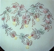 Angel Wings Flower - DK Designs Pattern & Fabric #3841