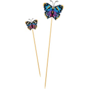 Butterfly Plastic Canvas Kit-6.4cm x 5.1cm 10 Count