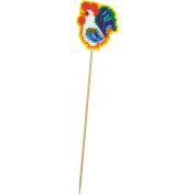 Rooster Planter Stick Plastic Canvas Kit-5.7cm x 7cm 10 Count