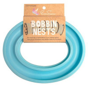 Bobbin Nest In Sky Blue By EverSewn - Bobbin Storage - Bobbin Ring - Holder - BN30SB