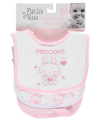 "Mary Jane & Buster ""Too Precious"" 3-Pack Bibs"