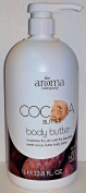 Creightons The Aroma Company Body Butter, Cocoa Butter, 1000ml Pump
