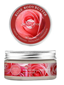Huini Beauty Shop Rose Whitening & Moisturising Body Butter for all skin types, 200g210ml