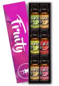 Fruity Gift Set of 6 Premium Grade Fragrance Oils - Apple, Mango Madness, Honeydew Melon, Strawberry, Pear, Grapefruit - 10Ml - Scented Oils