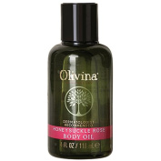 Olivina Moisturising Body Oil, Honeysuckle Rose, 120ml