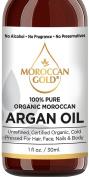 100% Pure Organic Morroccan Argan Oil