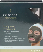 Body Mud Treatment with Salts and Minerals from Dead Sea