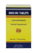 Shou Wu Pian - 100 pills, 50 g, net wt