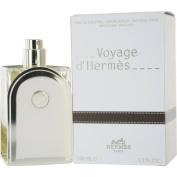 Voyage D'Hermes by Hermes Eau-de-toilette Refillable Spray for Unisex, 100ml