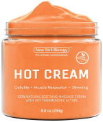 Cellulite Cream & Deep Muscle Relaxation Cream – Huge 260ml - 100% Natural Ingredients – Anti Cellulite Treatment Skin Toning & Firming Cream – Muscle Cream, Muscle Relaxer, Hot Cream