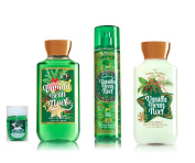 Bath & Body Works ~ Signature Collection ~ Winter 2016 ~ Vanilla Bean Noel ~ Shower Gel - Fine Fragrance Mist- Body Lotion & PocketBac Sanitising Hand Gel & PocketBac holder – Gift Bundle