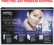SkinPep 4 Step Dark Circle & Eye Bags Treatment 30 Day Set - Protect Your Skin And Boost Eye Collagen, Lightens And Brightens Dark Eye Circles, Repair Age Spots - SkinPep Best Choice For Premium Quality Collagen Treatment by SkinPep