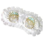 Ayygiftideas Women's Silk Sleeping Eye Mask Cute Big Eyes Blindfold Eye Cover