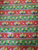 Minions theme wrapping paper- 1 roll