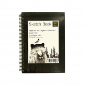 Wire Bound Sketch Book 80 Pages A5 Paper Acid-Free 15cm x 21cm