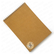 Hanbury & York - Buffy Books - A4 Sketchbook - 100% Recycled Paper and Board - Made in England