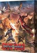 Captain America Civil War Canvas 23cm x 28cm Group Wall Decor
