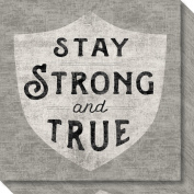 Canvas Art Gallery Wrap 'Stay Strong' by Sue Schlabach