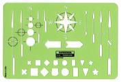 Rapidesign Arrows Template, 1 Each