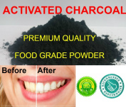 Activated Charcoal Powder 50g, Fine & Pure Food Grade
