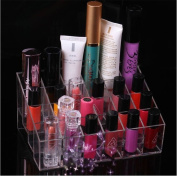 ULAKY 24 Makeup Lipstick Storage Cosmetic Show Display Stand Boxes Organiser