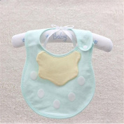 ULAKY Baby bibs Saliva towel Children's Meals Baby Cotton blended