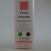 Peach Avocado Daily Day and Night Face Moisturiser. An ultra rich face & skin moisturiser for normal & dry skin - 210ml