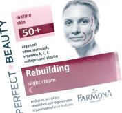 Farmona Rebuilding Anti Wrinkle Night Cream with Argan Oil and Collagen for mature skin 50+