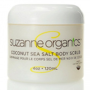 Suzanne Somers Organics Coconut Sea Salt Scrub 120ml